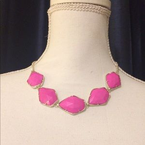 NWT Kendra Scott Pink Connely Statement Necklace